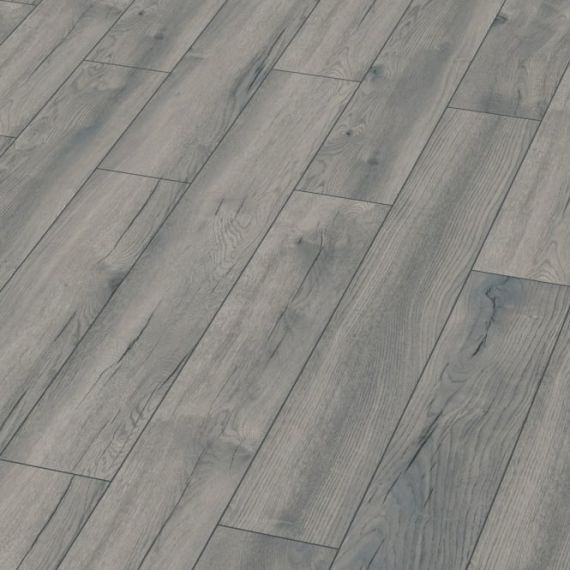Kronotex Exquisite 8mm Pettersson Grey Oak Laminate Flooring