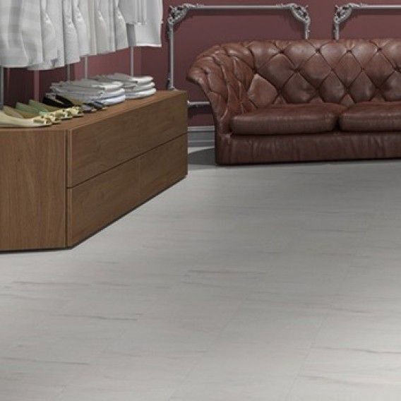 Egger Kingsize 8mm Aqua Plus Light Levanto Marble Laminate Flooring - EPL005 (Wooden Flooring)