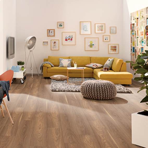 Egger Classic 7mm Mansonia Walnut Laminate Flooring - EPL109 (Wooden Flooring)
