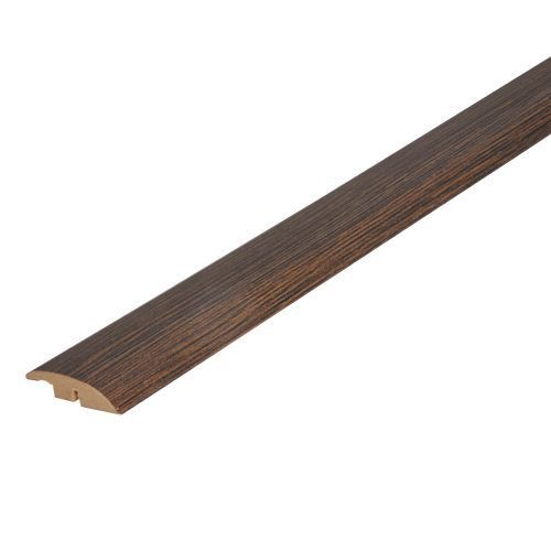 Coffee Solid Oak Full Ramp (Wood to Vinyl/Tile) To Complement Coffee Flooring 2.7m Length