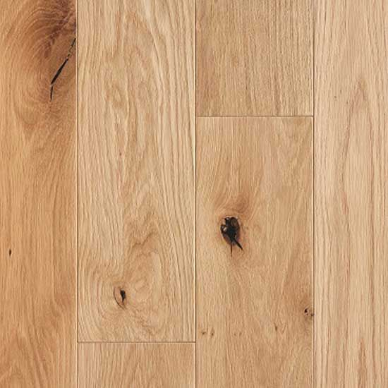 Caledonian Engineered Harris Oak Brushed and Oiled Click Lok 150mm x 14/3mm Wood Flooring (Wooden Flooring)