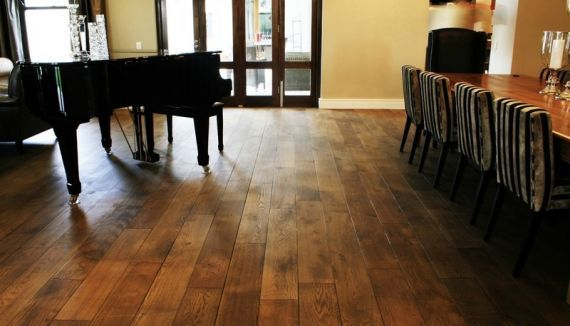 Cressington Engineered Smoked Oak Brushed & Lacquered Click Lok 127mm x 10/2.5mm Wood Flooring (Wooden Flooring)
