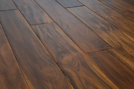 Cressington Engineered Acacia Walnut Lacquered Click Lok 121mm x 10/2.5mm Wood Flooring (Wooden Flooring)