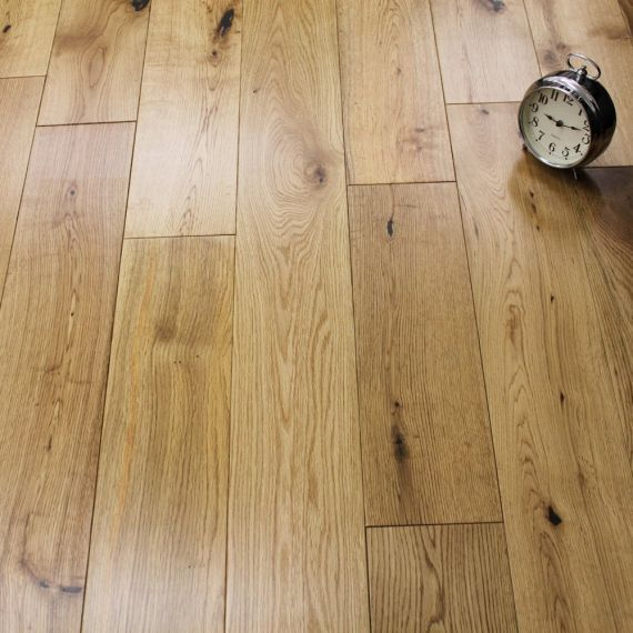 Kahrs Engineered Old Town Oak Bridgwater Satin Lacquered Click Lok 185mm X 14/3mm Wood Flooring (Wooden Flooring)