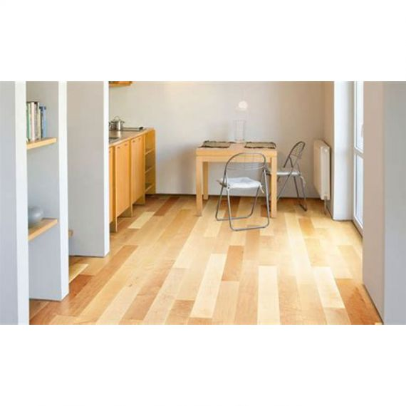 Caledonian Engineered Natural Maple Matt Laquered **PRIME** 120mm x 18.5/4mm Wood Flooring