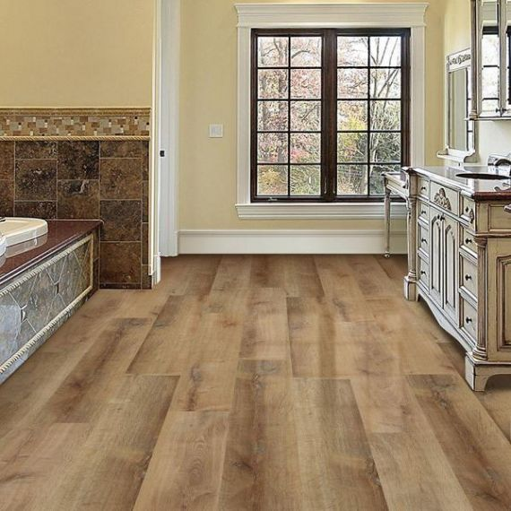 UK Handfinished Engineered Clean Golden Oak Oiled 220mm x 18/6mm Wood Flooring (Wooden Flooring)
