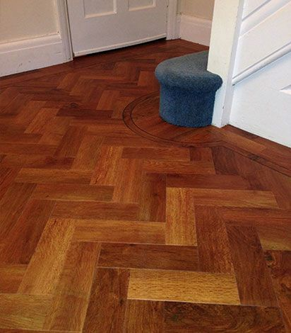 Sawbury Engineered Smoked Oak Brushed and Oiled 90mm x 18/4mm Parquet Wood Flooring