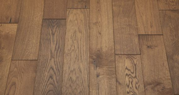 UK Handfinished Engineered Clean Golden Oak Oiled 180mm x 18/6mm Wood Flooring (Wooden Flooring)