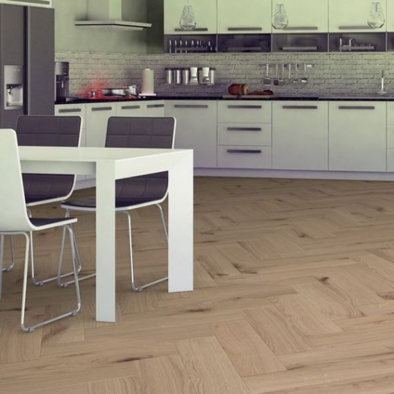 Sawbury Engineered Unfinished Oak **PRIME** 100mm x 14/3mm Parquet Wood Flooring (Wooden Flooring)