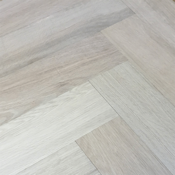 Sawbury Elite Engineered Grey Oak Brushed and Oiled Click Lok 150mm x 14/3mm Parquet Wood Flooring