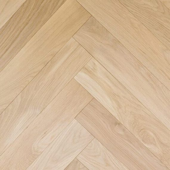 Sawbury Elite Engineered Unfinished Oak **PRIME** Click Lok 150mm x 14/3mm Wood Flooring (Wooden Flooring)