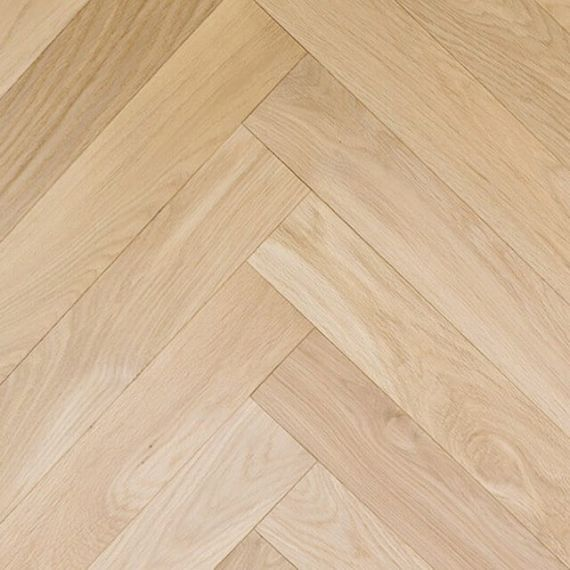 Sawbury Engineered Unfinished Oak **PRIME** 70mm x 18/4mm Parquet Wood Flooring (Wooden Flooring)