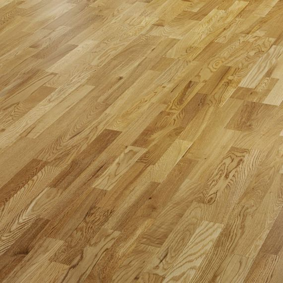 Henley Engineered Natural Oak Matt Lacquered Click Lok 207mm x 14/3mm Wood Flooring