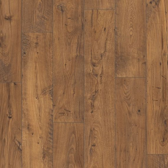 Quickstep Reclaimed Chestnut Antique 8mm Eligna Wide Laminate Flooring (Wooden Flooring)