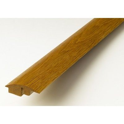 Golden Solid Oak Semi Ramp (Wood to Carpet) To Complement Golden Flooring 2.7m Length