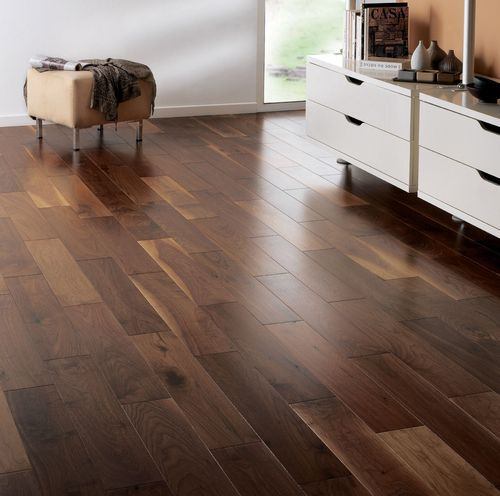 Fyfield Elite Engineered American Black Walnut 240mm x 20/6mm Wood Flooring