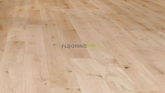 Milano Solid Oak Unfinished 110mm x 18mm Wood Flooring