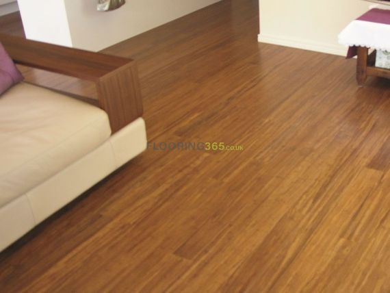 Barnworth Solid Stranded Woven Bamboo Click Lok 125mm x 14mm Wood Flooring (Wooden Flooring)