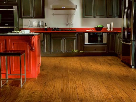 Edmonton Solid Golden Oak Oiled Handscraped 125mm X 18mm Wood Flooring (Wooden Flooring)
