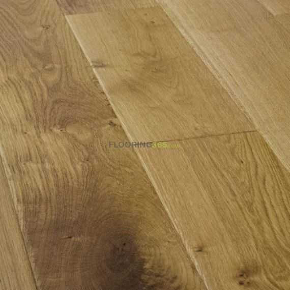 Milano Engineered Natural Oak Rustic Aged Brushed and Oiled 150mm x 18/4mm Wood Flooring (Wooden Flooring)