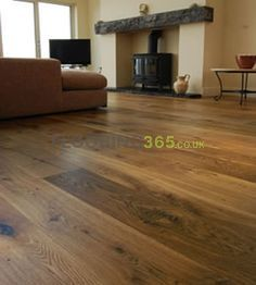 Barnworth Engineered Antique Smoked Oak Matt Lacquered Click Lok 180mm x 14/3mm Wood Flooring