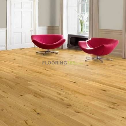 Milano Engineered Natural Oak Lacquered 189mm x 15/4mm Wood Flooring