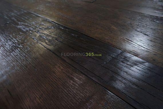 Twickenham Engineered Coffee Distressed Oak Brushed & Oiled 190mm X 14/3mm Wood Flooring