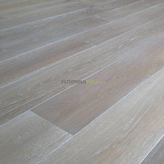 Highgate Elite Engineered Smoked Grey Oak 190mm x 20/6mm Wood Flooring