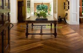 Sawbury Elite Engineered American Black Walnut 100mm x 14/2mm Parquet Wood Flooring (Wooden Flooring)