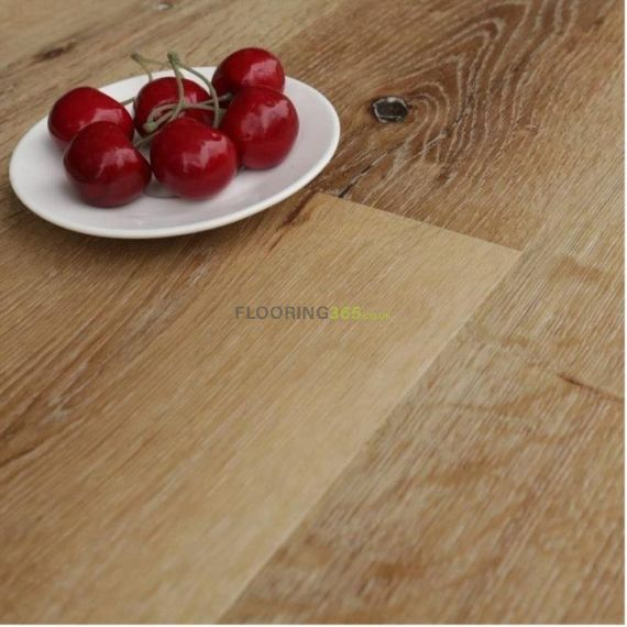Hillingdon Luxury Vinyl Classic Oak 178mm x 6.5/0.5mm LVT Flooring (Wooden Flooring)