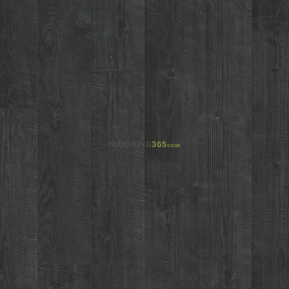 Quickstep Burned Planks 8mm Impressive Laminate Flooring