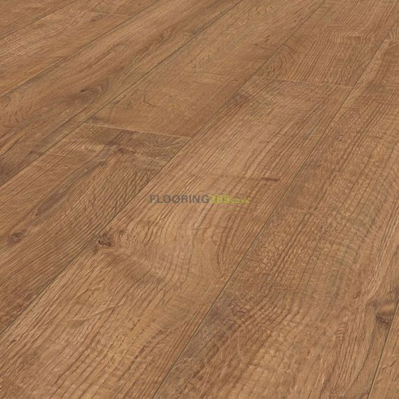 Krono Kronofix Cottage 7mm 4V Groove Light Kolberg Oak Laminate Flooring