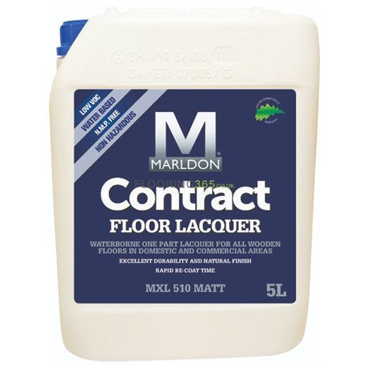 Marldon Contract Floor Professional Floor Lacquer Matt