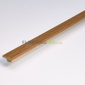 Smoked Solid Oak End Profile To Complement Smoked Solid Oak Flooring 2.7m Length