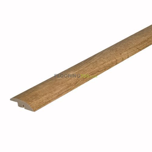 Solid Oak Full Ramp (Wood to Vinyl/Tile) To Complement Natural Oak Flooring 0.9m Length