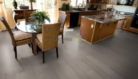 Richmond Engineered Stone Grey Oak 189mm x 14/3mm Wood Flooring (Wooden Flooring)