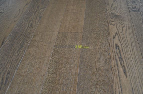 Cressington Engineered Smoked Oak Brushed & Lacquered Click Lok 127mm x 10/2.5mm Wood Flooring