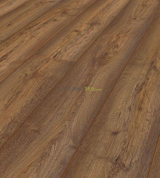 Krono Original Vario 8mm 4V Groove Modena Oak Laminate Flooring (Wooden Flooring)