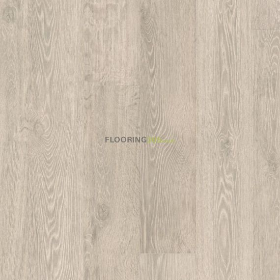 Quickstep Light Rustic Oak Planks 9.5mm Largo Laminate Flooring (Wooden Flooring)