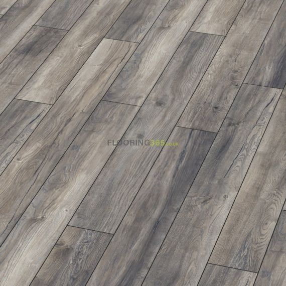 Kronotex Villa 12mm Harbour Grey Oak Laminate Flooring