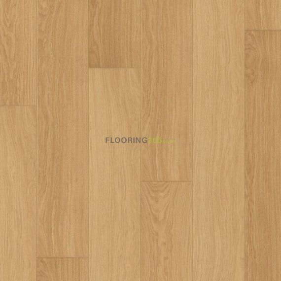 Quickstep Natural Varnished Oak 9.5mm Largo Laminate Flooring (Wooden Flooring)