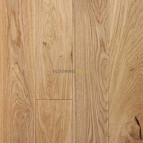 Caledonian Engineered Nevis Oak Lacquered 125mm x 18/5mm Wood Flooring (Wooden Flooring)