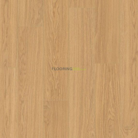 Quickstep Natural Oak Oiled 9.5mm Perspective Wide Laminate Flooring (Wooden Flooring)