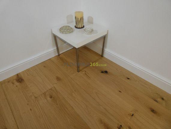 Glanwell Elite Engineered Natural Oak Oiled 190mm x 20/6mm Wood Flooring