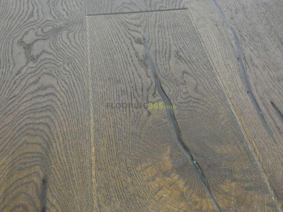 Highgate Engineered Black Coffee Oak Oiled and Distressed 220mm x 15/4mm Wood Flooring