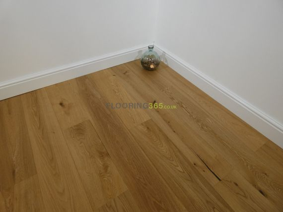 Barnworth Engineered Natural Oak Brushed and Oiled 170mm x 13.5/2.5mm Wood Flooring