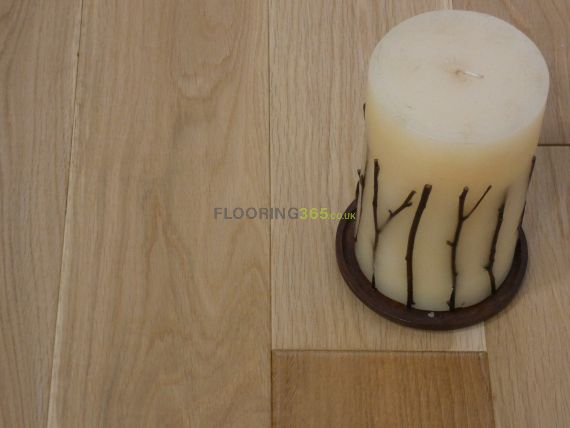 Stockholm Engineered Natural Oak Lacquered **Prime** 125mm x 12/3mm Wood Flooring