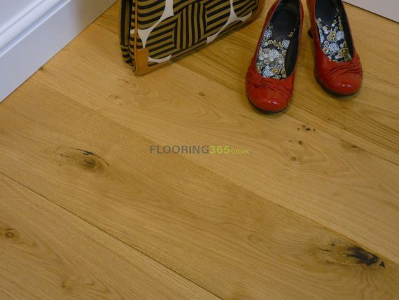 Milano Elite Engineered Natural Oak Rustic Aged Brushed and Oiled 190mm x 20/6mm Wood Flooring