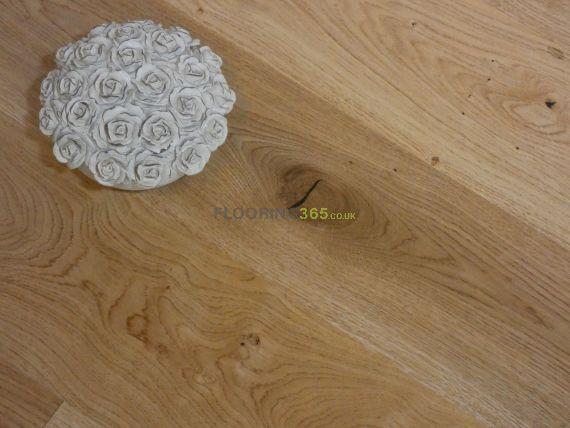 Highgate Engineered Natural Oak Lacquered Click Lok 165mm x 15/4mm Wood Flooring