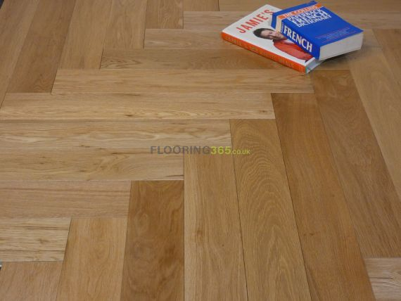 Sawbury Engineered Natural Oak Oiled  **PRIME** 100mm x 15/4mm Parquet Wood Flooring